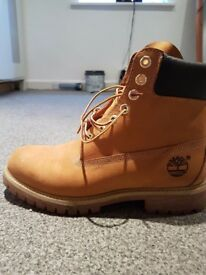 Genuine size 7 Timberlands