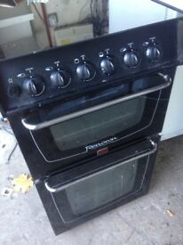 Black gas cooker 50cm......Free Delivery