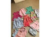 Girls 12-18 month summer bundle great brands