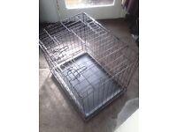 DOG Cage's x 2.