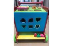 Wood walker toy