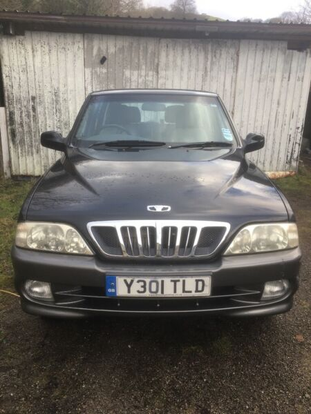4x4 Daewoo musso Tdi  for sale  Caerphilly, Wales