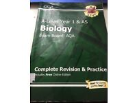 AQA A Level Biology and Chemistry Textbooks and Revision Guides