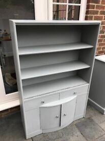Grey tall cabinet