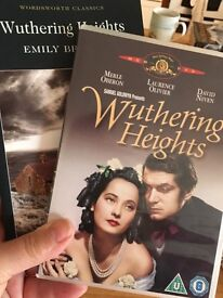 Wuthering heights book and DVD
