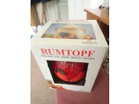 Rumtopf, brand new in box, high quality made in Germany, used for infusing fruit and alcohol
