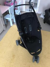 QUINNY ZAPP XPRESS BLACK WITH EXTRAS