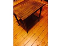 East craft cards table / trolley / Teak