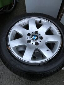 BMW 320 d 4 Weels and Tiers 205/55 R 16