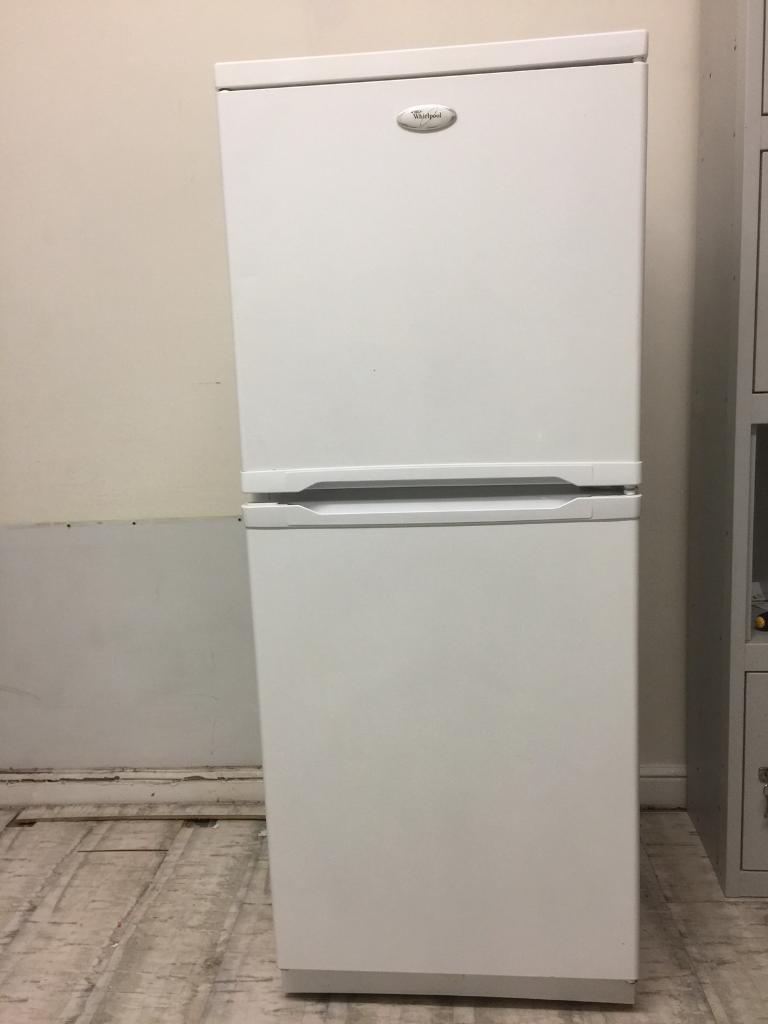 Whirlpool Fridge Freezer three quarter height