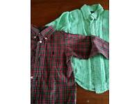 Ralph Lauren age 1-2 boys shirts x 3