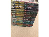 Lemony snicket, a series of unfortunate events books 1-13