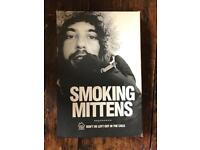 Novelty smoking mittens
