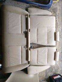 BMW E46 320d compact rear seats