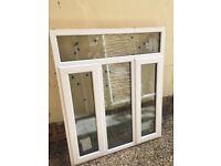 Double Glazed UPVC Window 1190mm wide x 1400mm tall