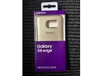 Samsung Galaxy S6 Edge Case Protective Cover BNWB Gold