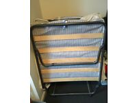 Single Z bed with mattress