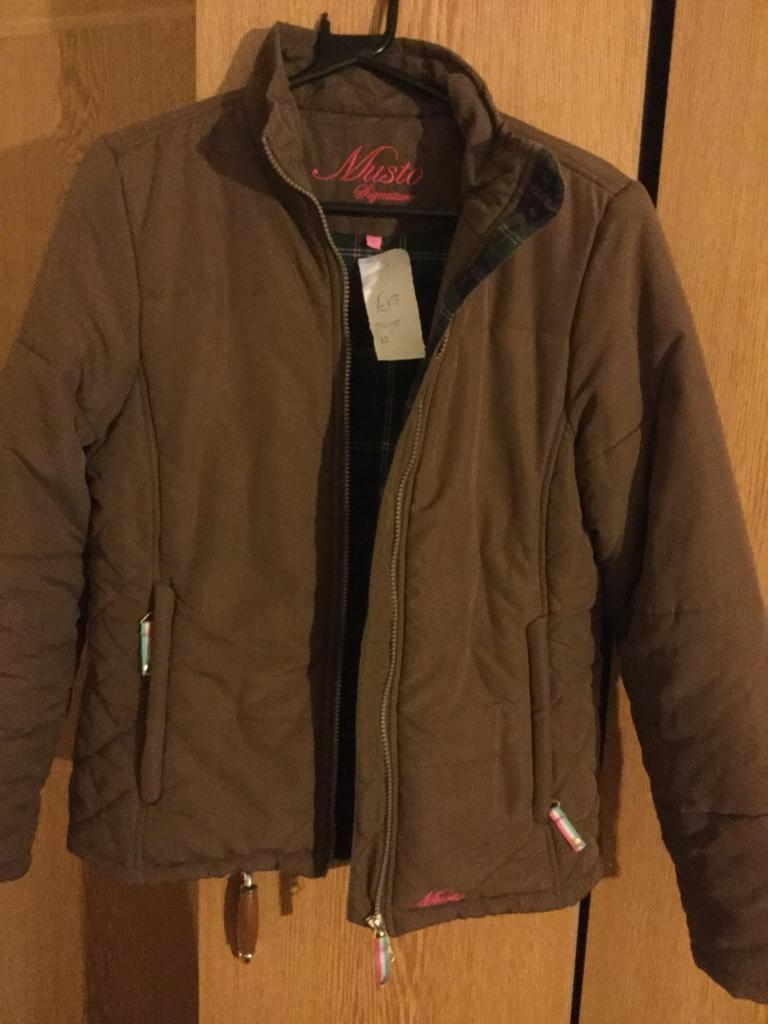 Musto padded Jacket-Size 12-Brown-Only 15 | in Lancaster ...