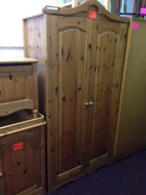 pine wardrobe for sale