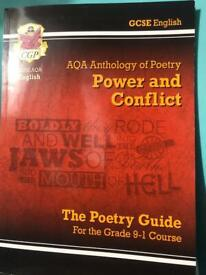 Power and Conflict Gcse revision guide The Poetry guide