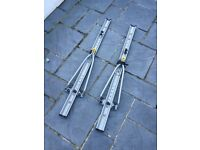 Halfords Roof Mounted Cycle Carriers/Racks x 2