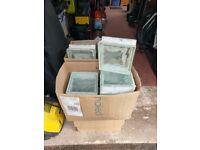40 x Glass Blocks 190 x 190 x 80 USED