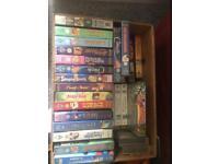 Assorted Disney VHS