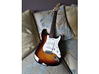 Fender Mustand stratocaster guitar