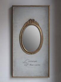 Grey Painted Mirror NadineHome