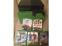 XBOX ONE AND 5 GAMES