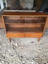 Retro mid century teak cabinet.