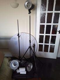 Photograptic lighting equipment
