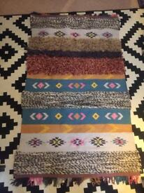 Urban outfitters Aztec style rug