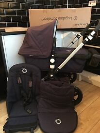 Bugaboo cameleon Navy *brand new still in the box chassis*