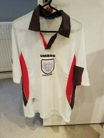 England Football Shirt World Cup 98