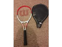 Wilson federer tennis racket LIKE NEW MUST GO ASAP