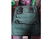 Green camera travel bag for sale