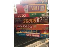 8 Board Games games and 2 jigsaws