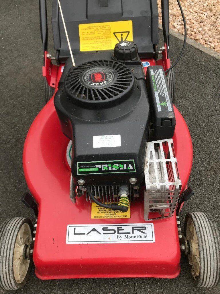 Mountfield Lazer Petrol Mower 420 - Manual Push