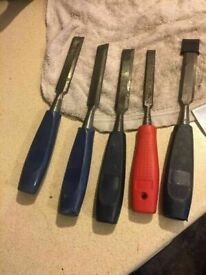 **HAND TOOLS**CHISELS**£1 EACH**MORE AVAILABLE**
