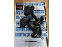 York Fitness Dumbbells
