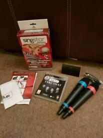 PS3 wireless Singstar Mics & Take That singstar