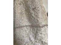 NEW David's bridal dress .. NEVER WORN.. dress must be seen, no one else will have this dress!!!