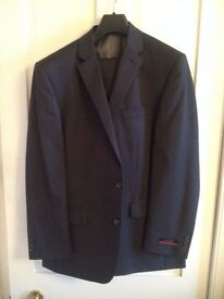 Suits - Two 3 Piece, Pierre Cardin Suits. 1 Never worn, 1 worn once. Tags on. 42R chest, 36 waste