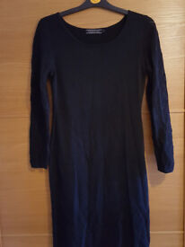RRP £420 WORN ONCE peruvian connection black dress