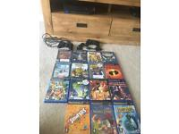 Playstation 2 console and children's games Bundle