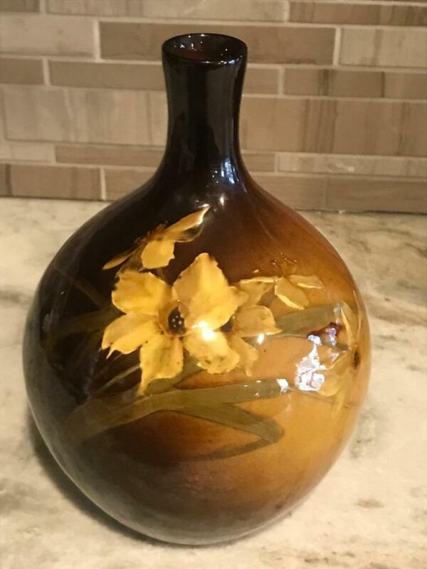 "JB Owens Utopian Pottery 8.5"" Vase 1075"