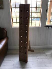 Great piece of furniture, Solid Oak Wine Rack