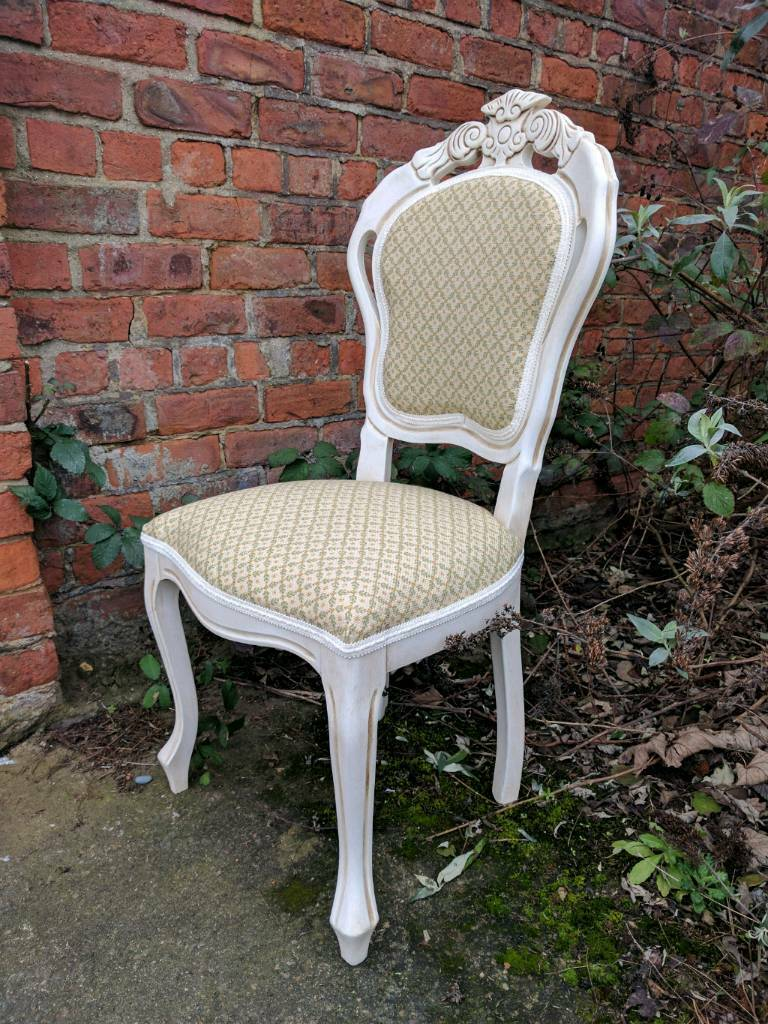 Louis Style Bedroom Furniture Professionally Painted French Louis Style Bedroom Chair In Aged