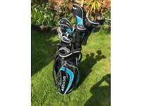 Dunlop Golf Clubs with trolley